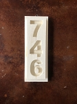 STYROFOAM HOUSE NUMBERS # 39
