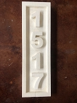 STYROFOAM HOUSE NUMBERS # 46