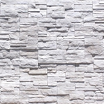 CLIFF STONE VENEER  WHITE -2  SQFT